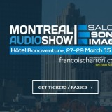 Hear Spendor A5R and Chord Hugo in Montreal, March 27-29, 2015.