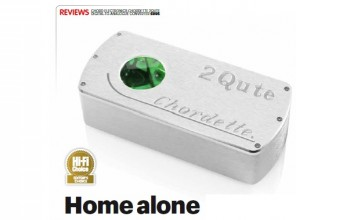 Chord 2Qute DAC Wins Editor's Choice, September 2015