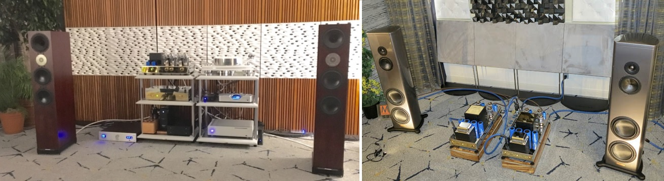 Jadis I-50, JA120, Spendor D9 and Magico S3 MkII at Los Angeles Show
