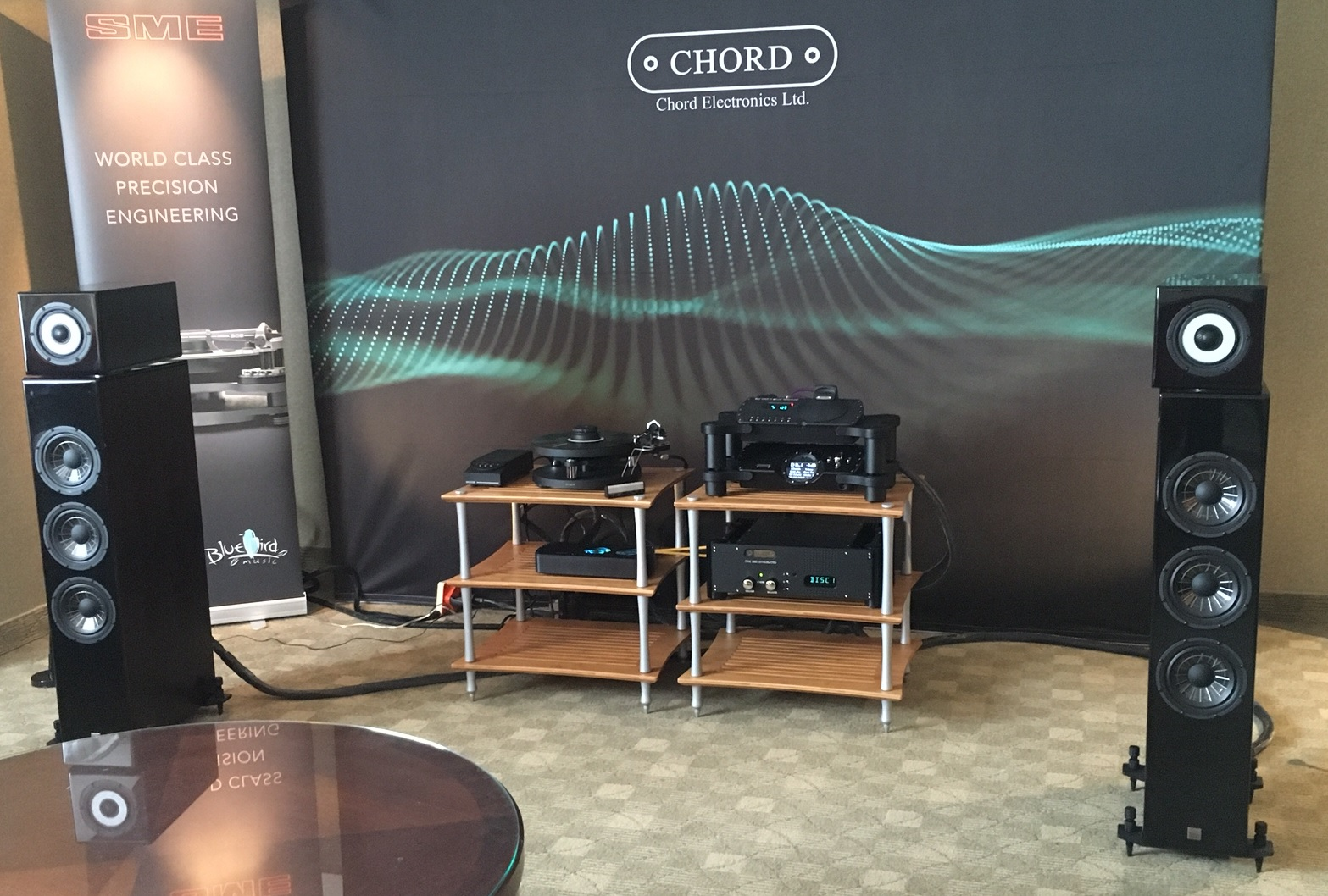 SME, Chord and Vienna Acoustics at Montreal AudioFest 2018