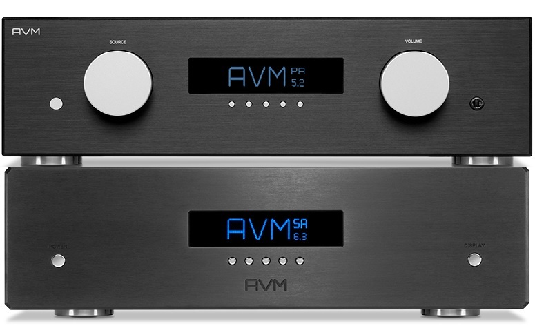 AVM PA 5.2 Preamplifier and SA 6.3 Stereo Amplifier