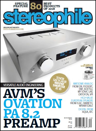 Stereophile AVM PA 8.2 Review