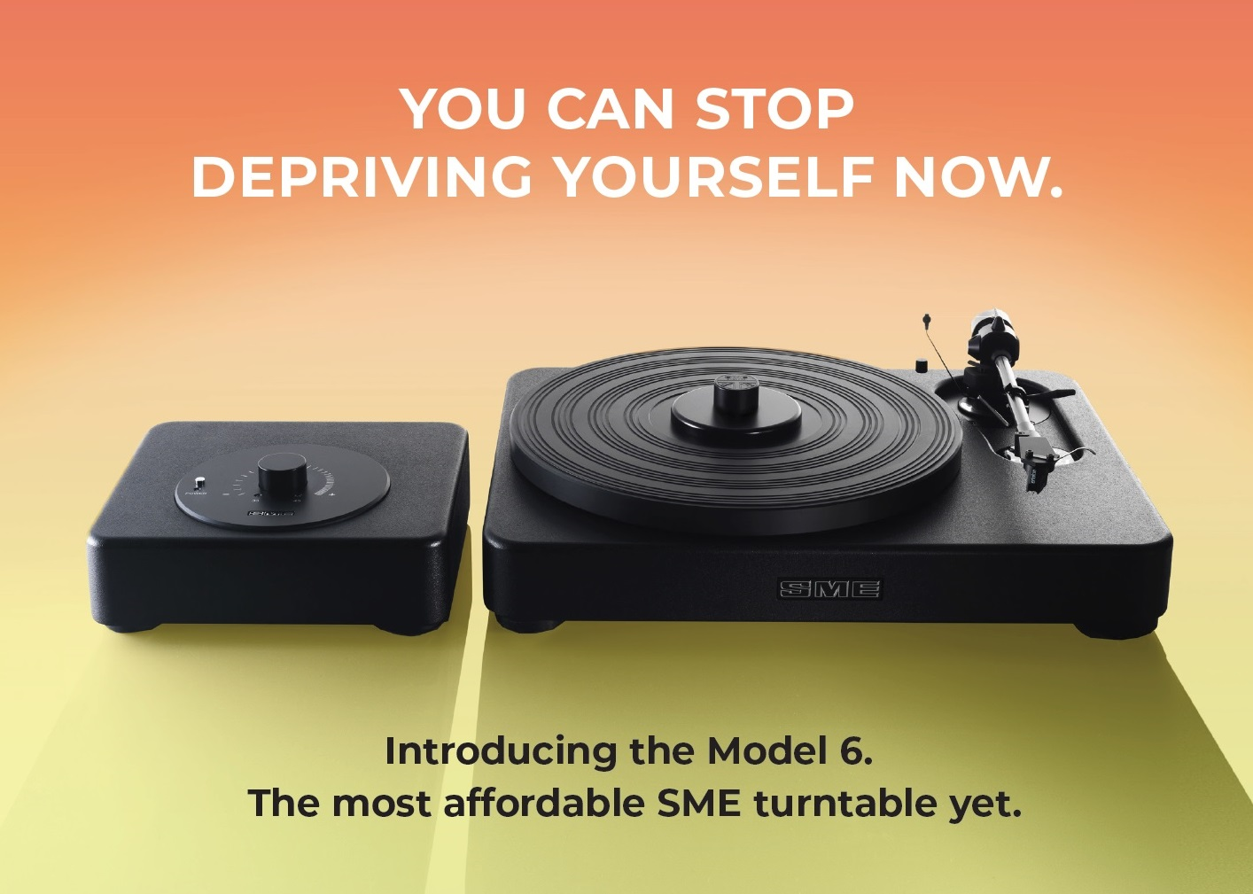 SME Model 6 Turntable Distributed by Bluebird Music in USA and Canada