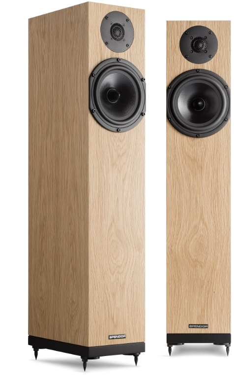 Spendor A4 Loudspeakers in Oak