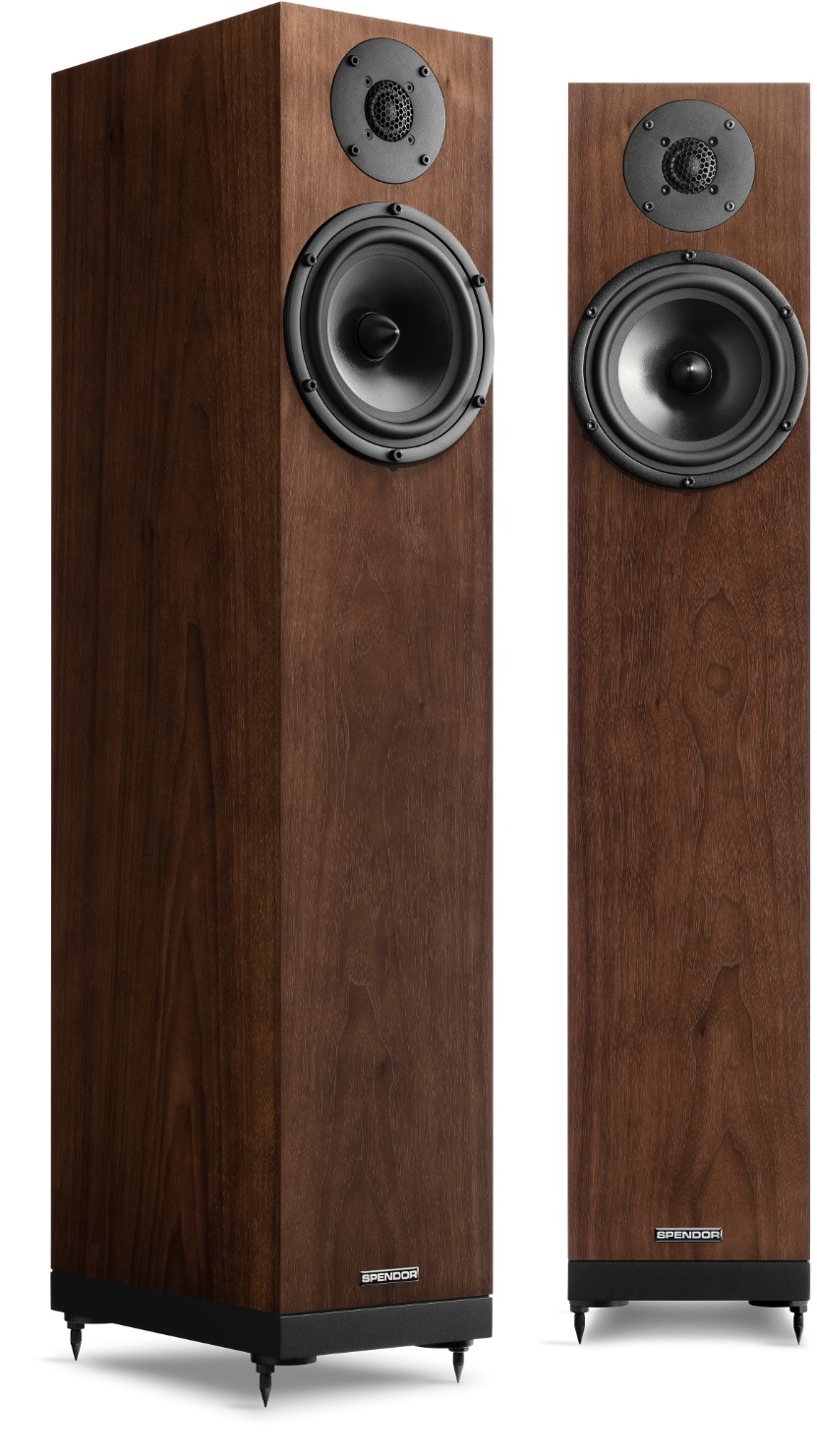 Spendor A7 in Dark Walnut Finish
