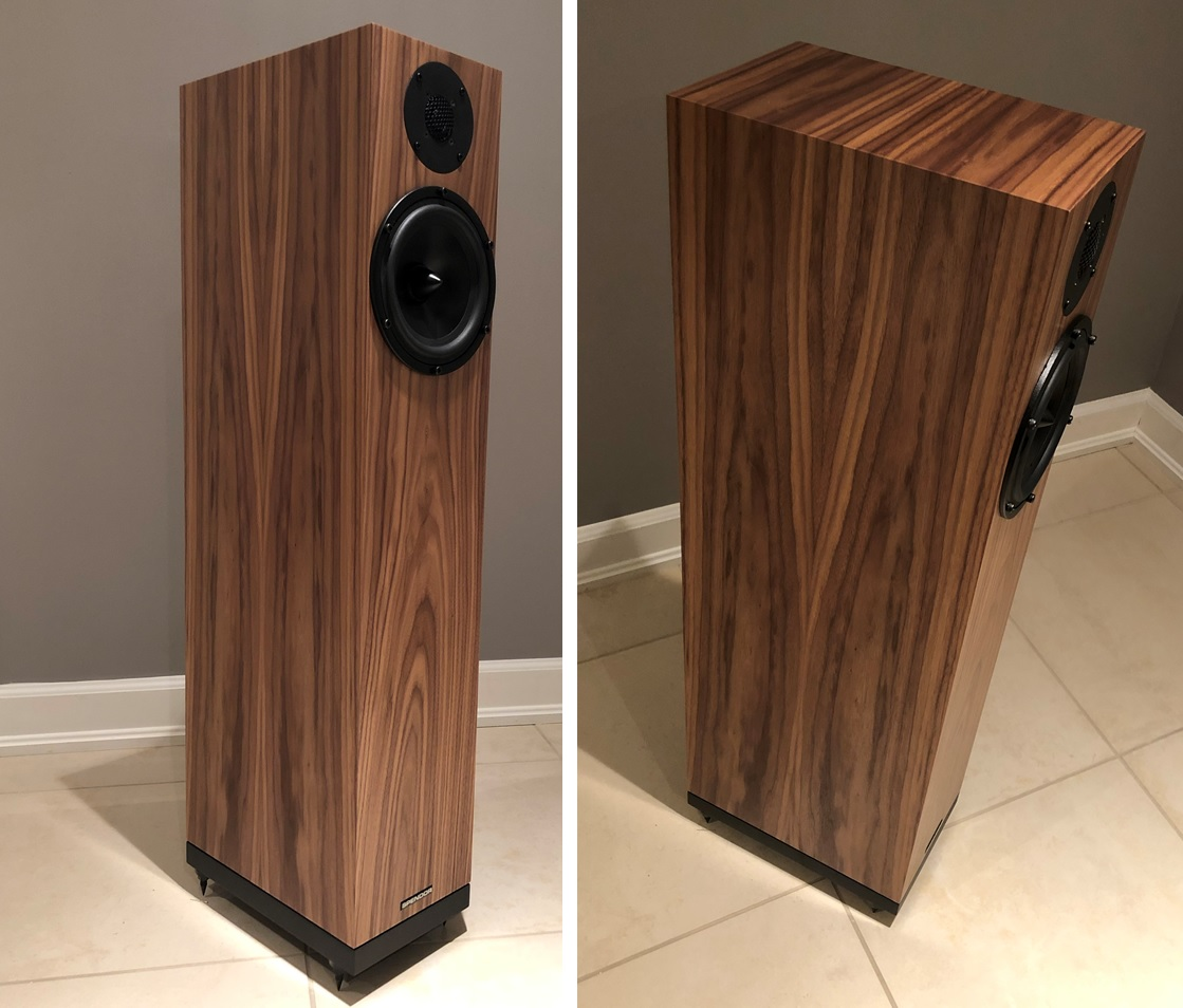 Spendor A7 in Natural Walnut finish