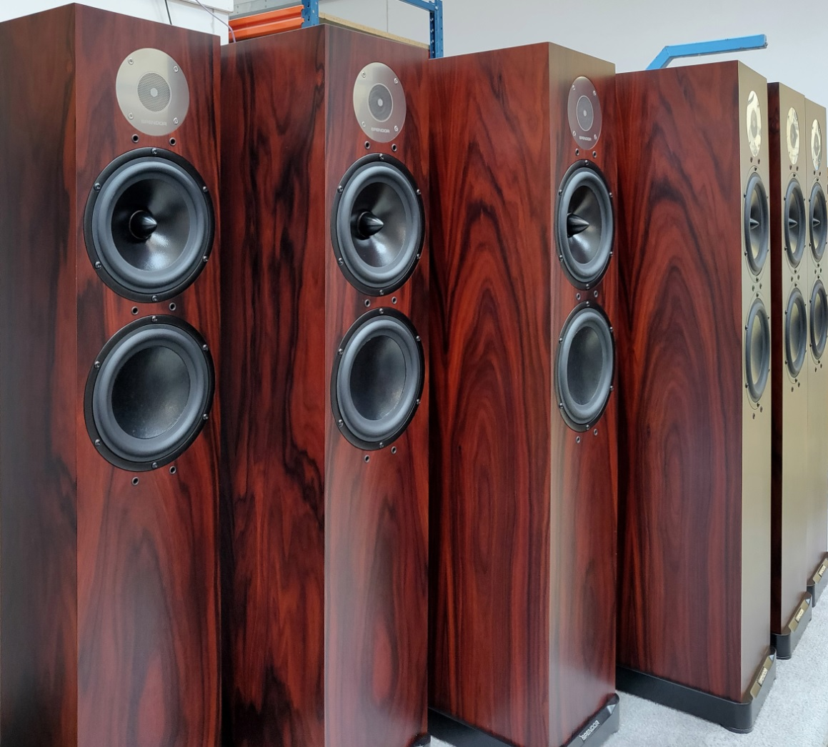 Spendor D7 Limited Edition Rosewood